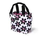Hanna Hula mini-mamy bag Retro Flower Black