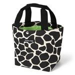 Hanna Hula mini-mamy bag Black Giraffe